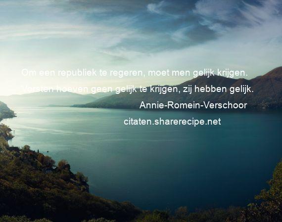 Citaten Annie Guide : Annie romein verschoor citaten aforismen citeert de