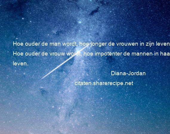 Citaten Over Mannen : Diana jordan citaten aforismen citeert de grote gedachten