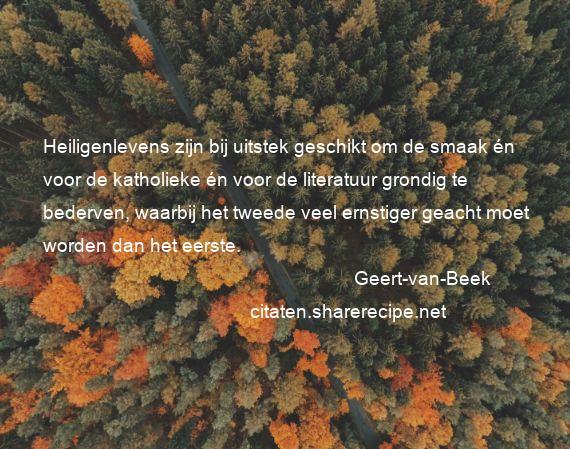 Citaten Uit Literatuur : Geert van beek citaten aforismen citeert de grote gedachten