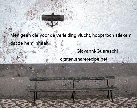 Citaten Voor Hem : Giovanni guareschi menigeen die voor de verleiding vlucht