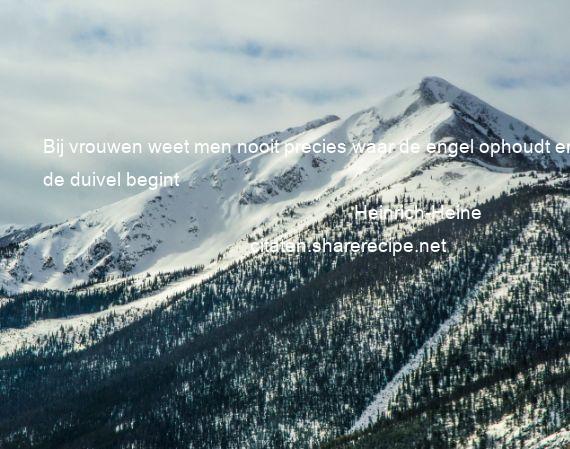 Citaten Over Engelen : Heinrich heine citaten aforismen citeert de grote gedachten