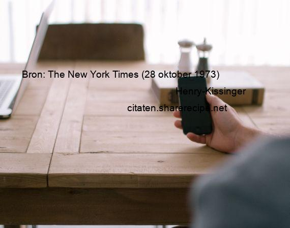Citaten Seneca Gigi : Henry kissinger bron the new york times oktober