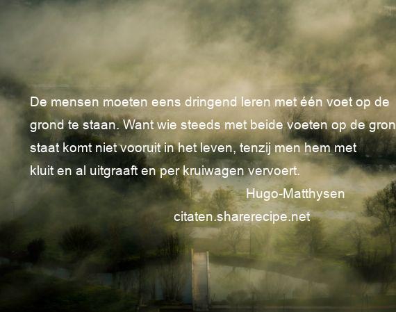 Boek Citaten En Aforismen : Hugo matthysen citaten aforismen citeert de grote