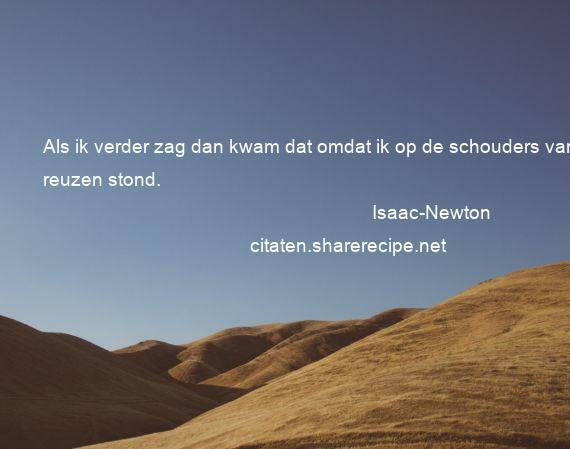 Filosofische Citaten Muziek : Isaac newton citaten aforismen citeert de grote
