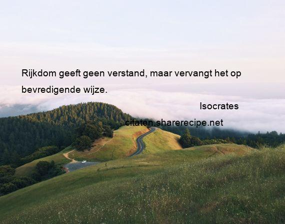 Citaten Socrates Apa : Isocrates citaten aforismen citeert de grote gedachten