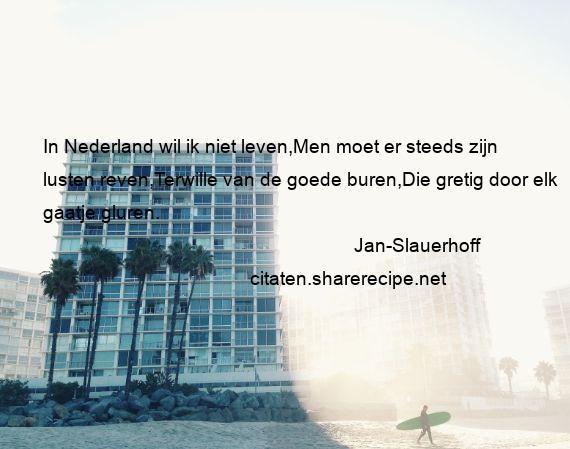 Filosofische Citaten Leven : Jan slauerhoff citaten aforismen citeert de grote
