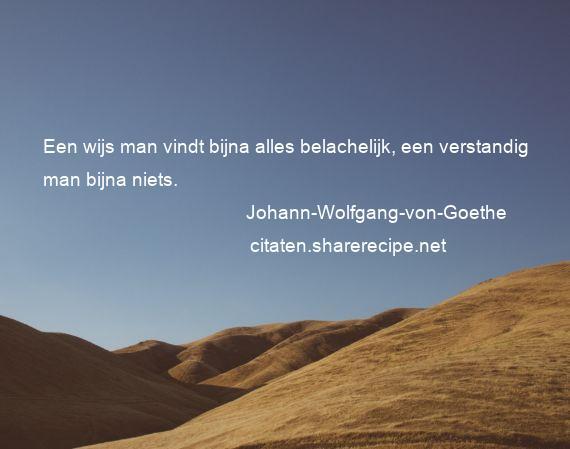 Citaten Goethe : Johann wolfgang von goethe een wijs man vindt bijna alles