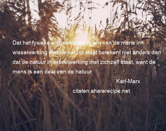 Citaten Filosofen Liefde : Karl marx citaten aforismen citeert de grote gedachten