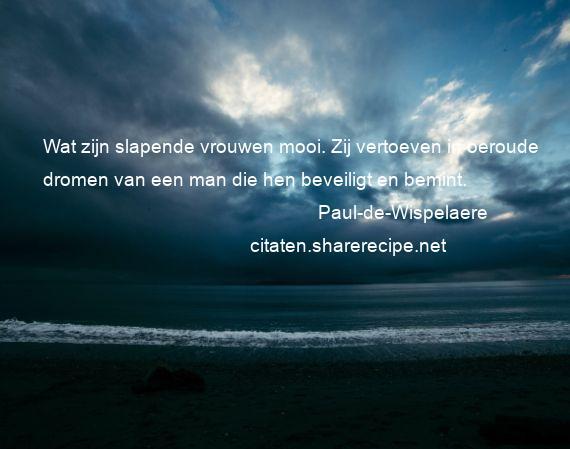 Bekende Citaten Dromen : Paul de wispelaere citaten aforismen citeert grote
