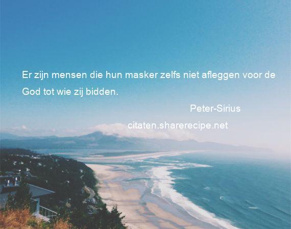 Peter Sirius Citaten Aforismen Citeert De Grote