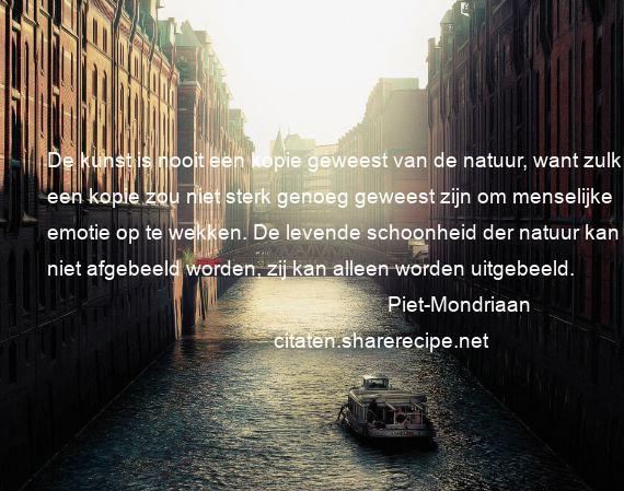 Citaten Over Schoonheid : Piet mondriaan citaten aforismen citeert de grote gedachten