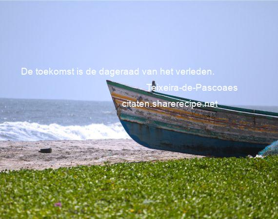 Citaten Toekomst Terbaru : Teixeira de pascoaes toekomst is dageraad van het