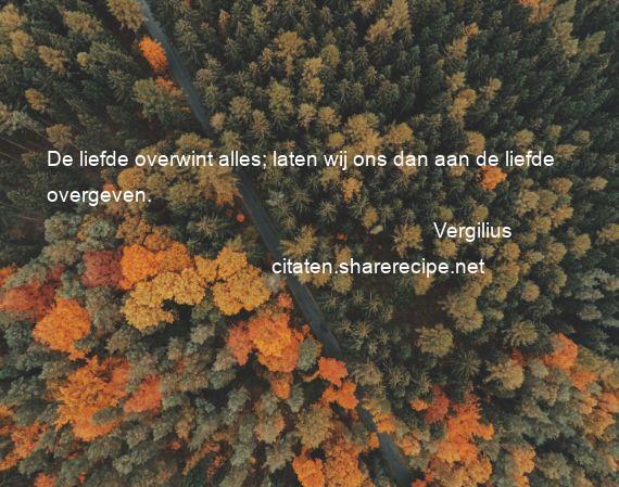 Filosofie Liefde Citaten : Vergilius citaten aforismen citeert de grote gedachten