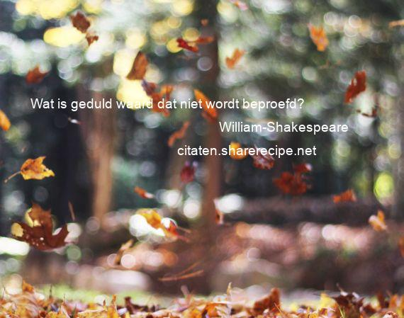 Citaten Shakespeare Xiaomi : William shakespeare wat is geduld waard dat niet wordt